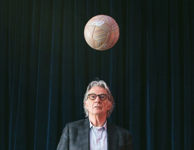 Paul Smith with New Balance Ball