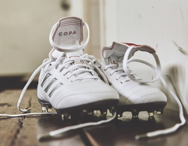 adidas Copa Gloro 17 in White Silver