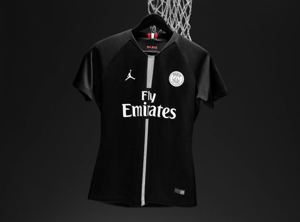 Jordan Brand Paris Saint-Germain First Ever Soccer Jersey