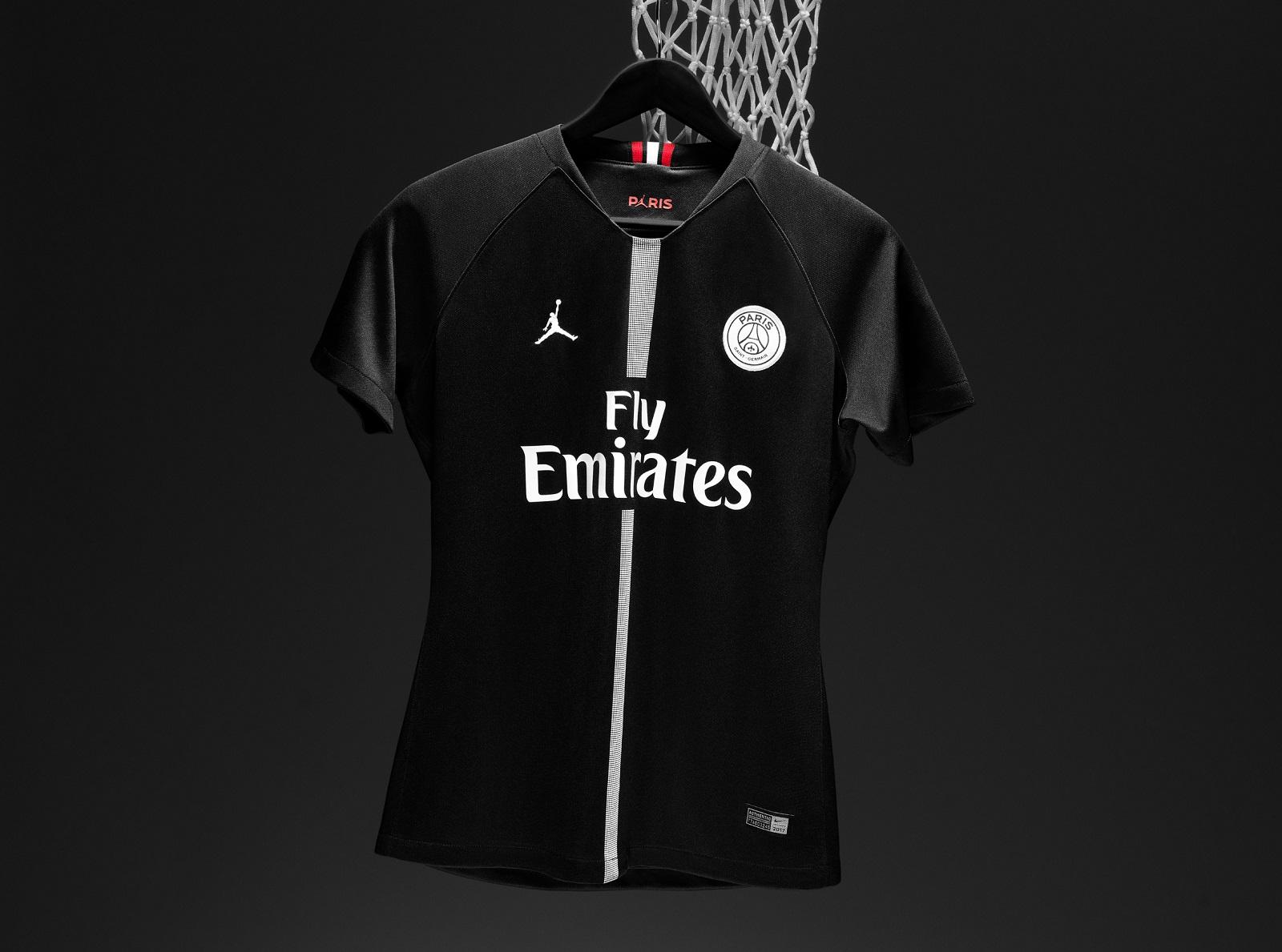 Jordan Brand Paris Saint-Germain First Ever Soccer Jersey  c2553dfc0