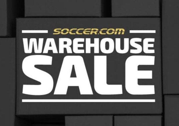soccer.com Warehouse Sale 2018