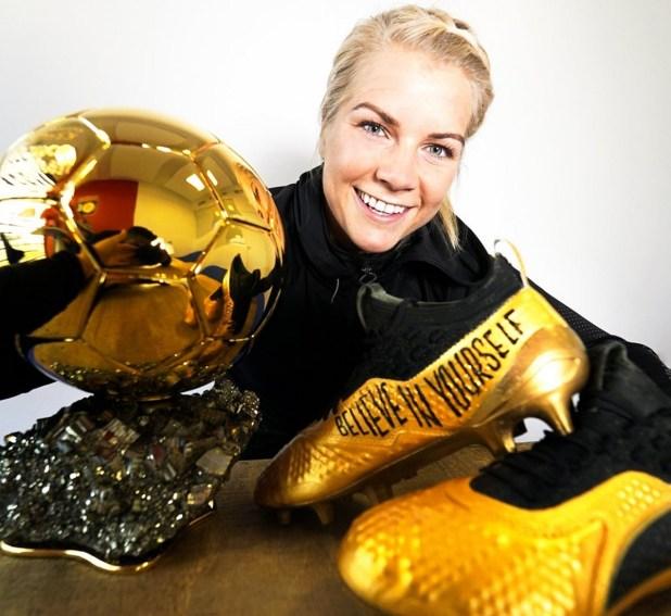 Ballon d'Or Ada Hegerberg Boots