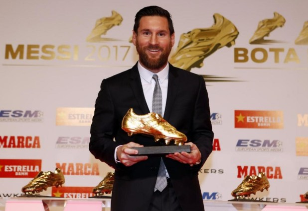 Messi Golden Shoe 2018