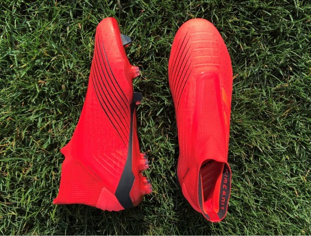 adidas Predator 19+ in Risk Red
