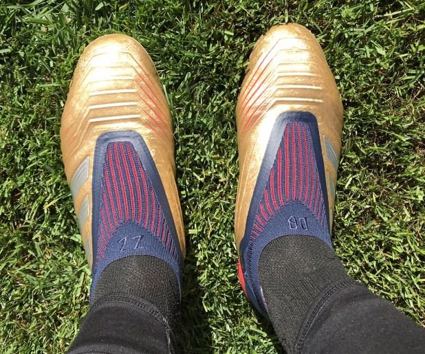 adidas Predator19+ Gold DB ZZ On Foot