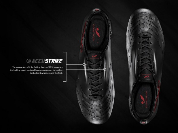 Concave accustrike Technology