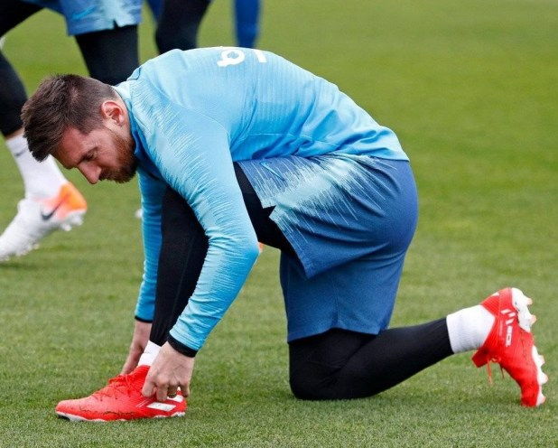 Costoso a fondo acro  Leo Messi Debuts Next Generation adidas Nemeziz | Football News and Fixtures