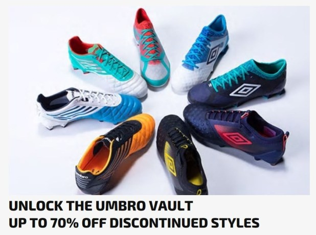 Umbro Boot Vault Sale