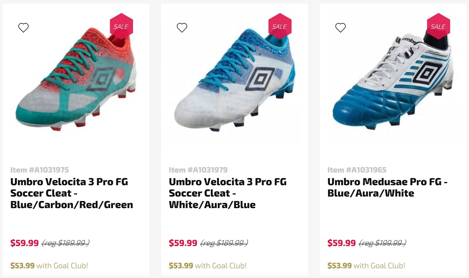 Open Up The Umbro Boot Vault - Up To 70