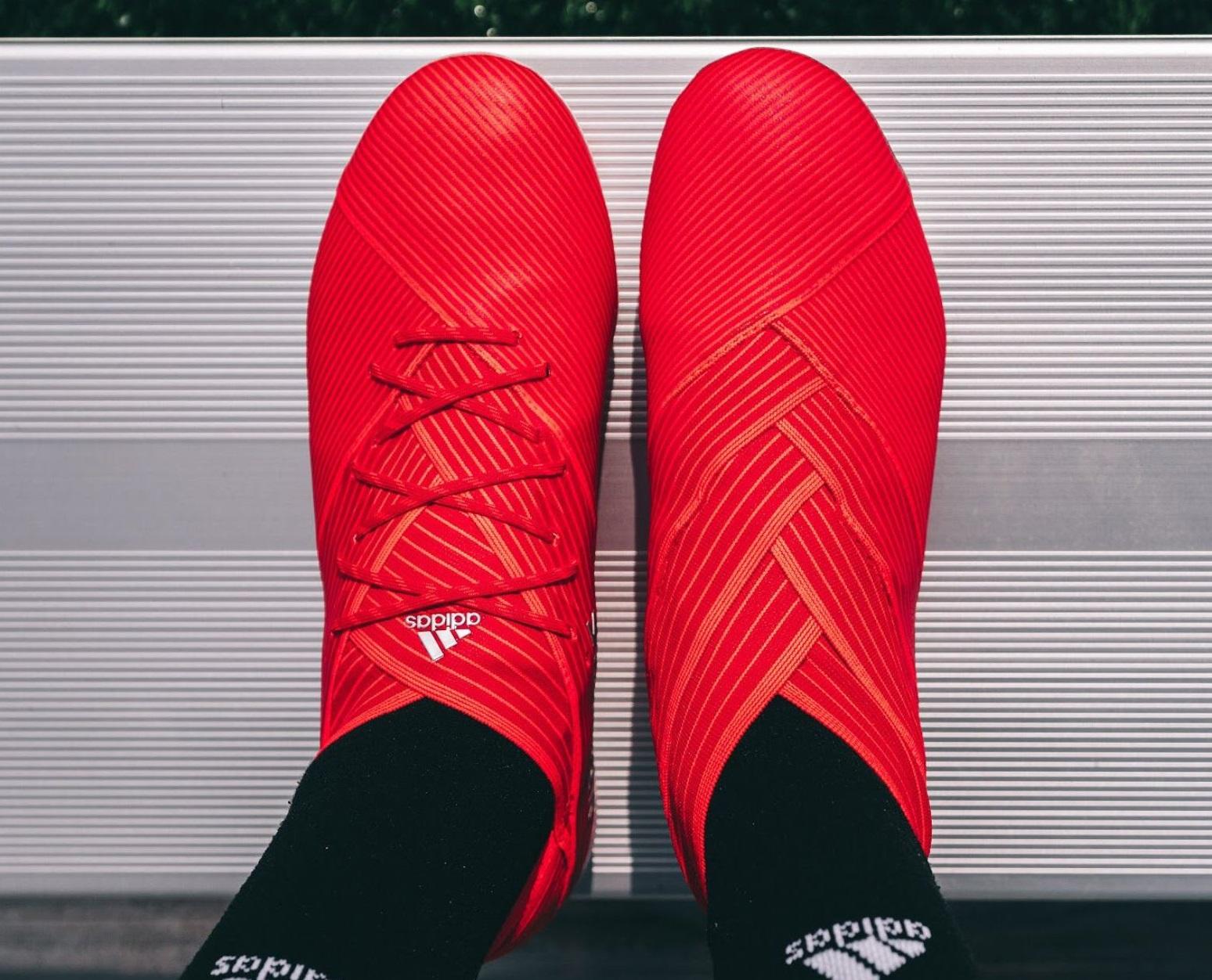 e8818cba0 adidas Nemeziz19 Laced Laceless. Share. Facebook · Twitter · Google + ·  Pinterest. Tags adidas Nemeziz 19 Lionel Messi New Release