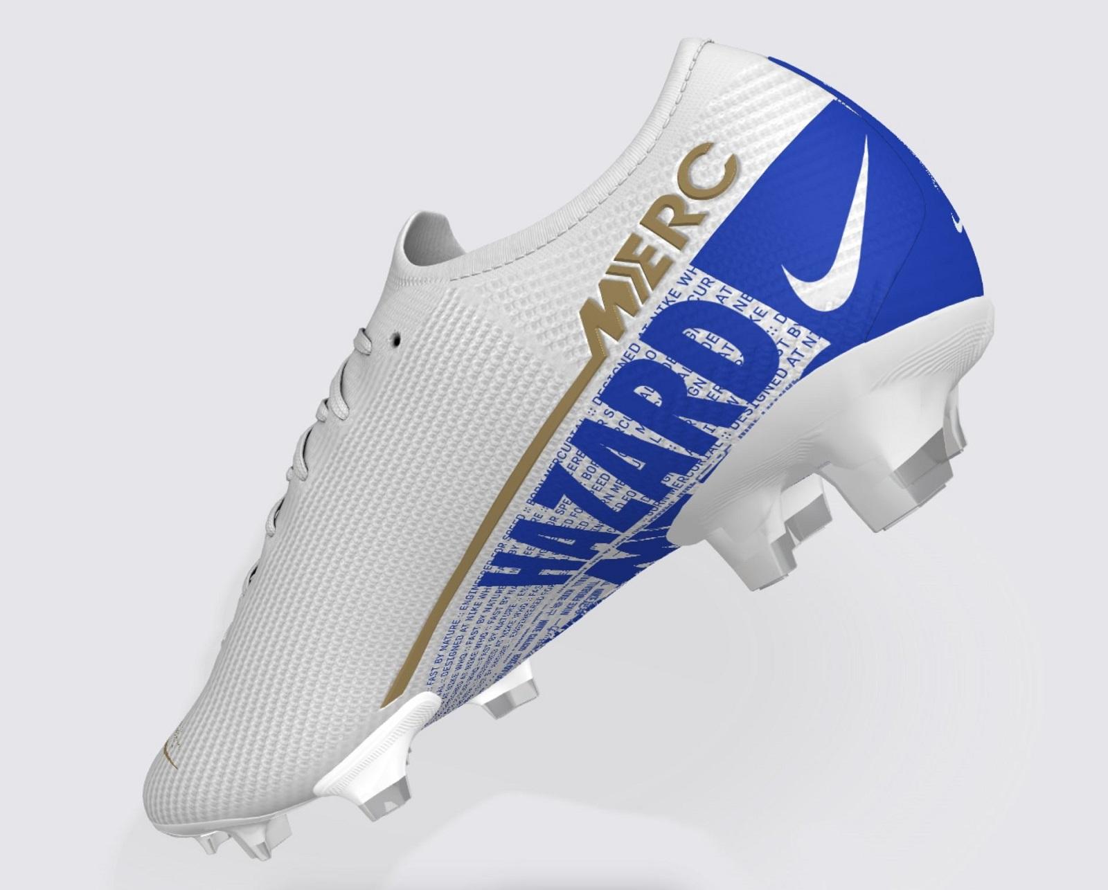 size 40 6e6b5 a57e5 Nike By You Eden Hazard Mercurial Vapor | Soccer Cleats 101