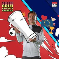 Antoine Griezmann European Champion