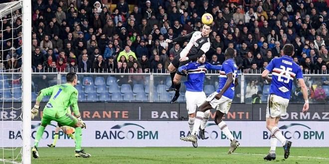 Ronaldo Defying Gravity