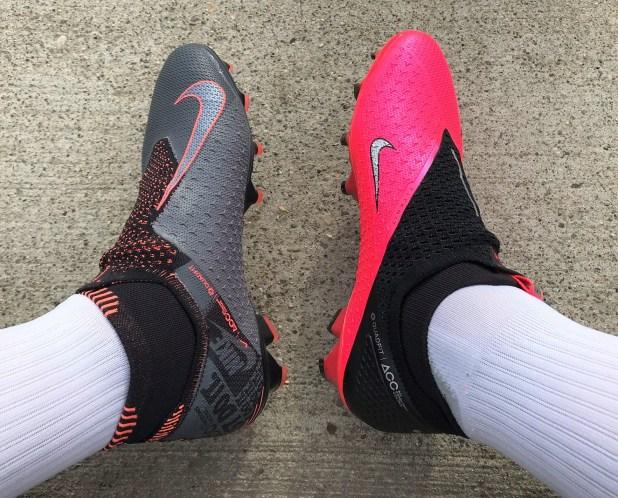 Comparing the Nike PhantomVSN 2