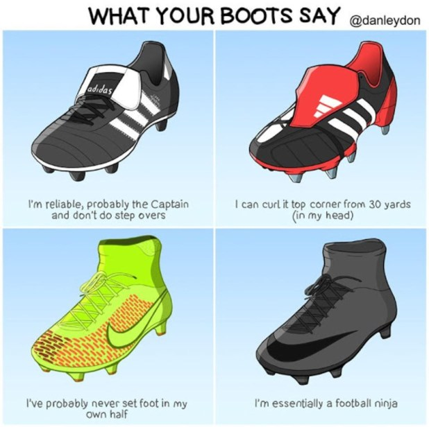 What Your Boots Say 1