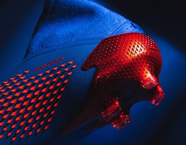 Tormentor Blue and Red adidas Predator