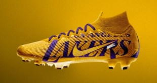 Lakers Soccer Cleat Concept