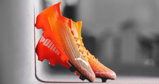 PUMA ULTRA 1.1 in Shock Orange