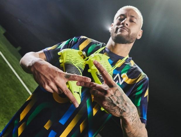 Neymar with Puma FUTURE Z