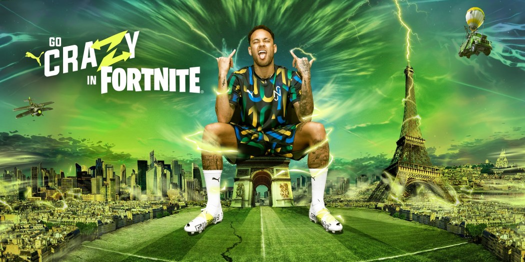 Neymar x PUMA x Fortnite Launch