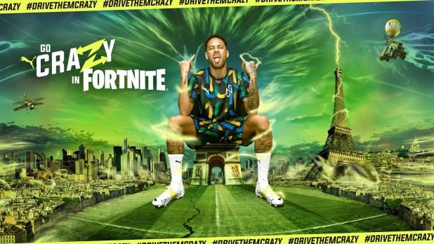 Neymar x PUMA x Fortnite Launch