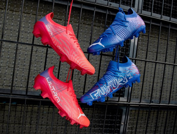 Puma FUTURE and ULTRA Faster Football Pack