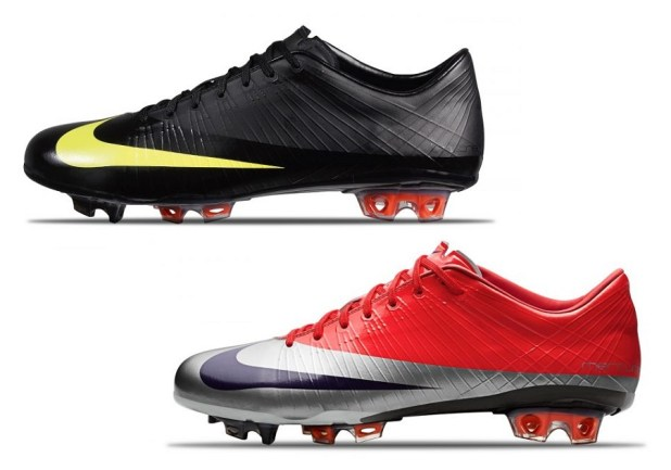 2009 Mercurial Vapor Superfly Black and Red