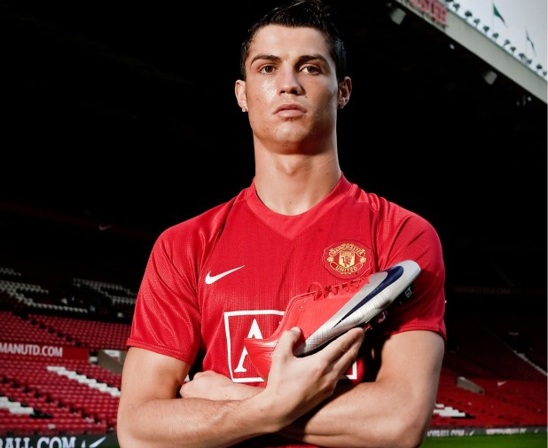 CR7 with Mercurial Vapor Superfly