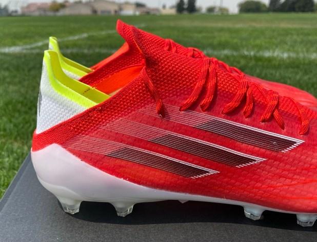 adidas X Speedflow.1 Heel Design