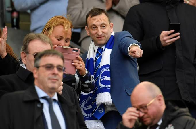 No relegation if no more Premier League play, says Brighton owner