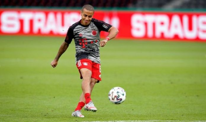 Liverpool strike transfer agreement with Thiago Alcantara over summer switch
