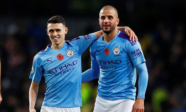 Walker says Foden is best youngster he has ever seen