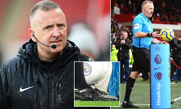 Fans hysterical as 49-year-old ref Jon Moss gets nickname on boots
