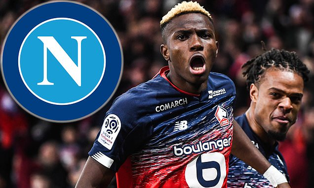 Arsenal and Chelsea 'to lose out to Napoli in race to sign Osimhen'