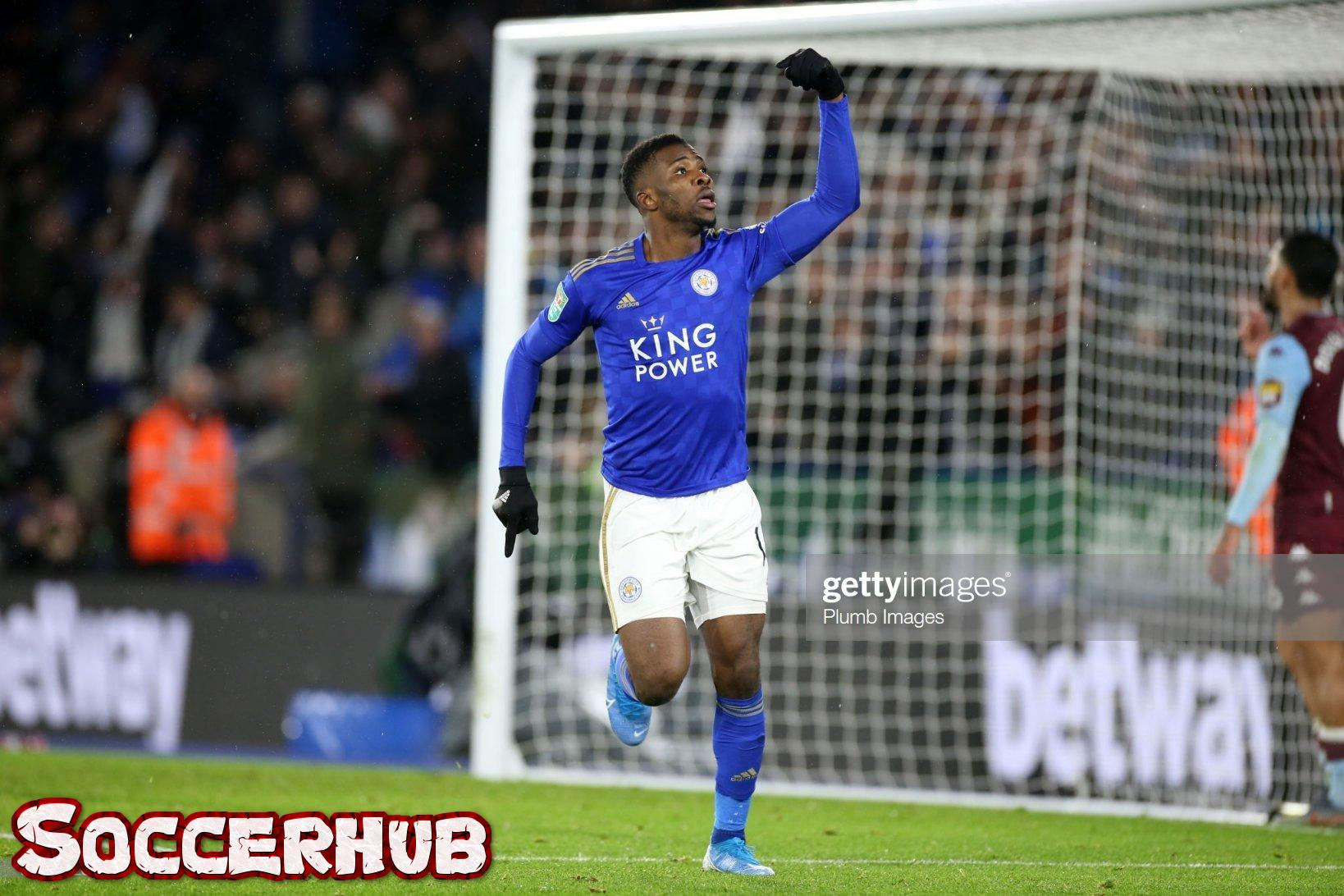 Iheanacho secures Leicester city FA qualification
