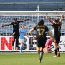 Oshoala scores away goal for in Barcelona 2-1 defeat to Manchester City ladies