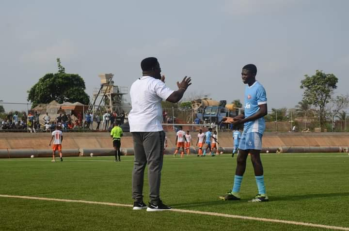 Ogunmodede Feels Comfortable after Victory against Ibom Youth