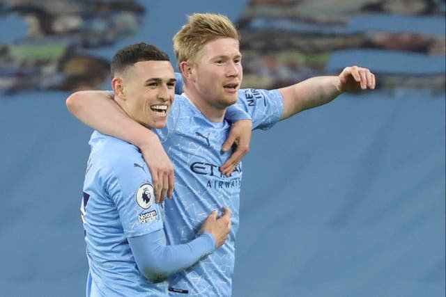 De Bruyne sign new contract with Manchester City