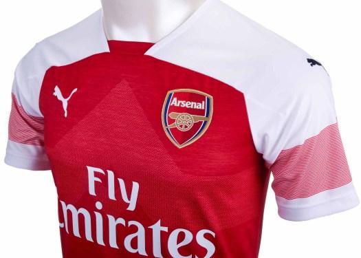 2018/19 PUMA Arsenal Home Jersey - Soccer Master