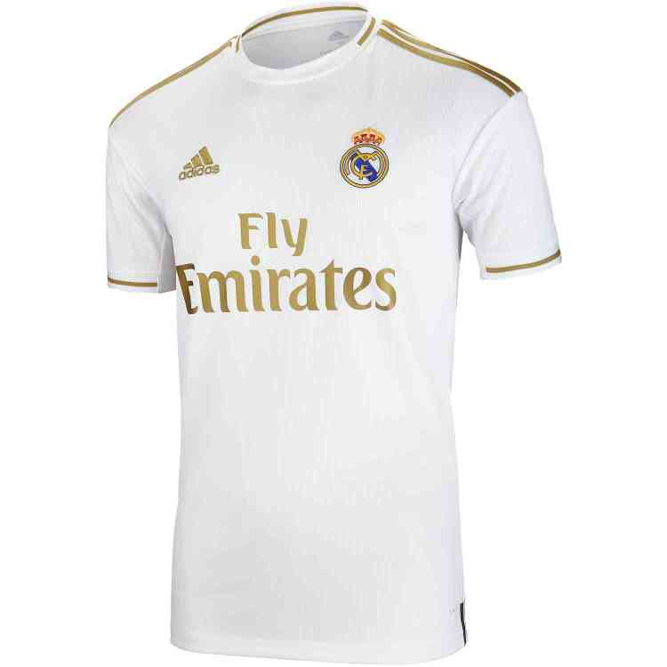 2019/20 Kids adidas Real Madrid Home Jersey - Soccer Master