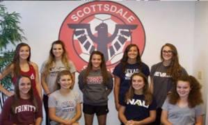 Scottsdale Blackhawks 2015 College Commitments