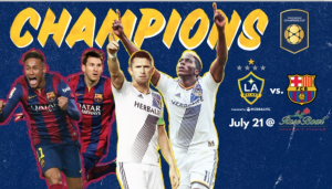 Barcelona and L.A. Galaxy: an exhibition game