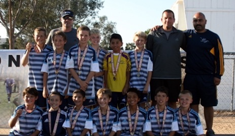 West Coast FC BU12 Novak Make The Finals for Liverpool Cup