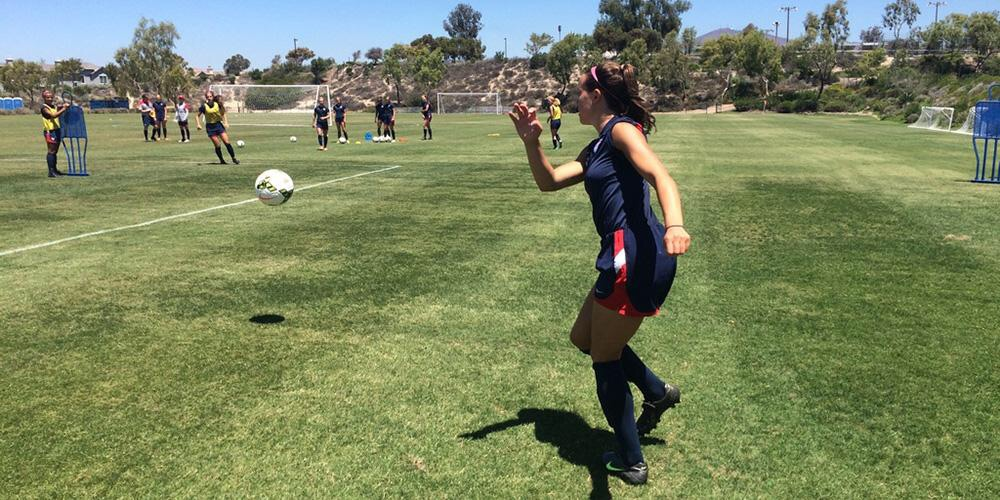 A combined 20 California natives named to U.S. Soccer's men's and women's teams