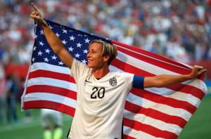 Abby Wambach in her last World Cup