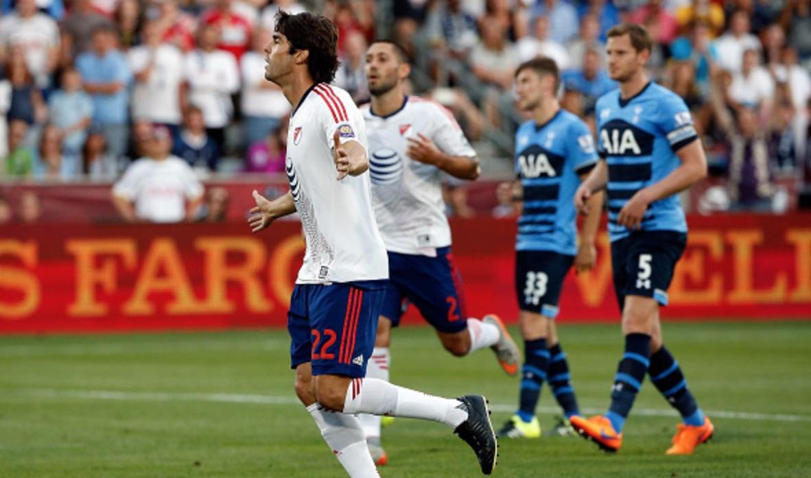 MLS All-Star Team defeats English Premier League Tottenham Spurs