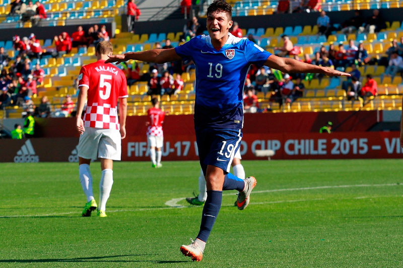 Chula Vista native Brandon Vazquez scores in U.S. U-17 World Cup draw against Croatia