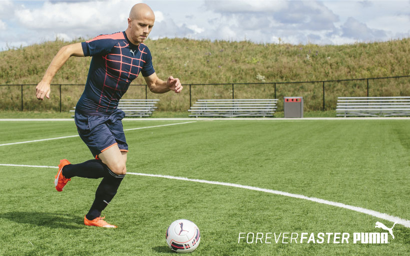 Michael Bradley joins ranks with PUMA football