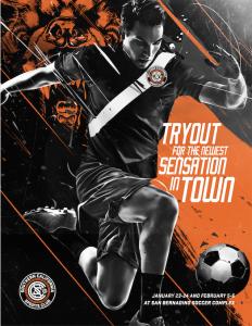 Flyer Front - SoCal SC Social Media