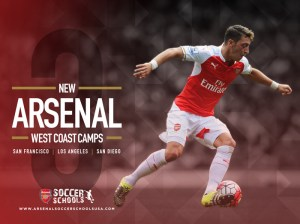Arsenal Soccer Camps Coming to California